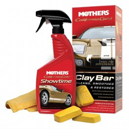Video: How to Use a Mothers Clay Bar to Remove Grime and Debris