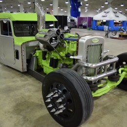 855ci Cummins Peterbilt Rat Rod at Piston Powered Autorama