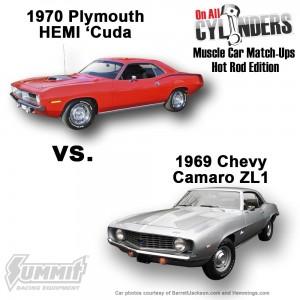1970-Cuda-vs-1969-Camaro