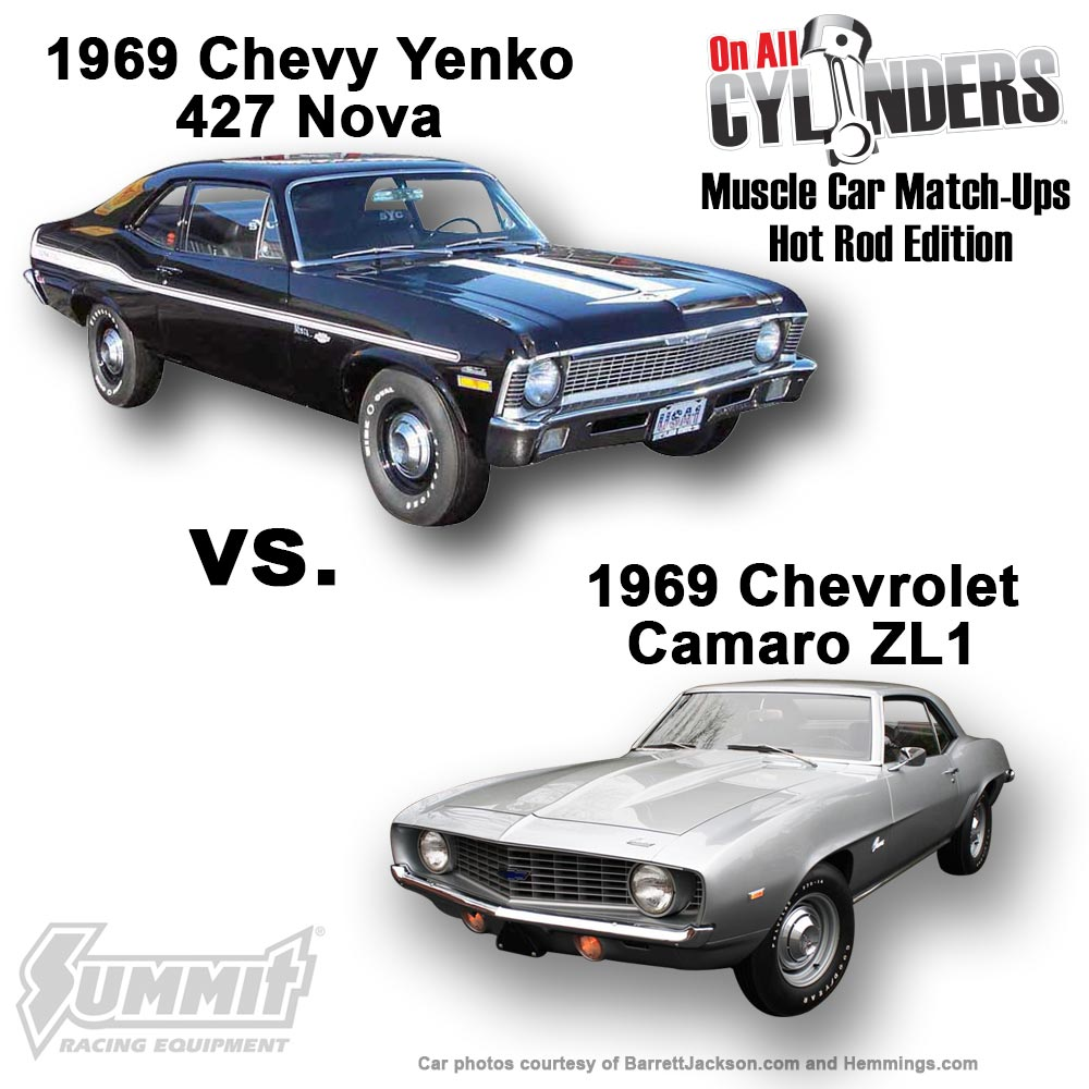 the final four of muscle car match-ups 2016 - onallcylinders