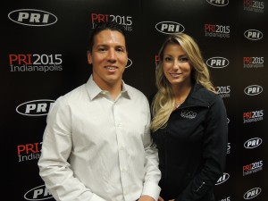 Dave Connolly and Leah Pritchett