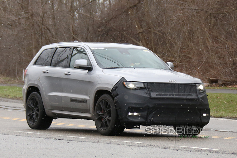 First Look At Hellcatpowered 2018 Jeep Grand Cherokee Trackhawk
