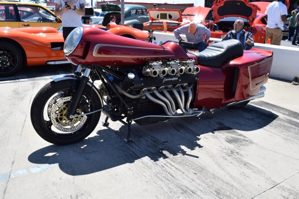 Chuck Beck's Lamborghini Motorcycle Atlanta Motorama