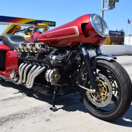 Atlanta Motorama: A Lambo Engine in a Motorcycle?