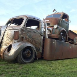 1938 Ford Hauler and 1941 Chevy