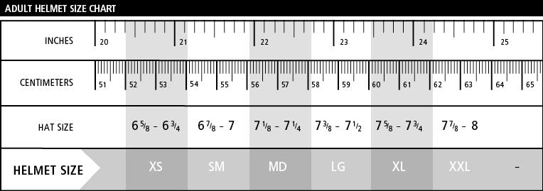 Adult_Helmet_Size_Chart - Simpson