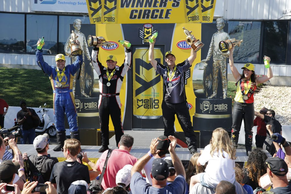 NHRA Winners Circle Englishtown 2016