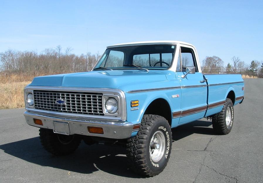 1972 Chevy Longhorn pickup truck