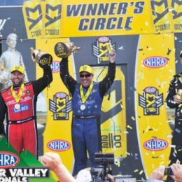 NHRA Briston winners 2016