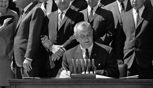 President Lyndon B. Johnson signed into law the vehicle safety bill after the U.S. Senate passed the legislation on this date 50 years ago (Image/lbjlibrary.org)