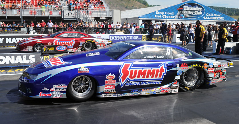 NHRA Pro Stock Drivers Greg Anderson and Jason Line Discuss