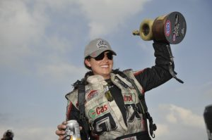 Ashley Force Hood won the U.S. Nationals in 2009. (Image/