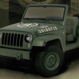 Jeep Celebrates 75 Years with WWII Willys-Overland Tribute Concept Vehicle