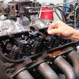 valve spring installation