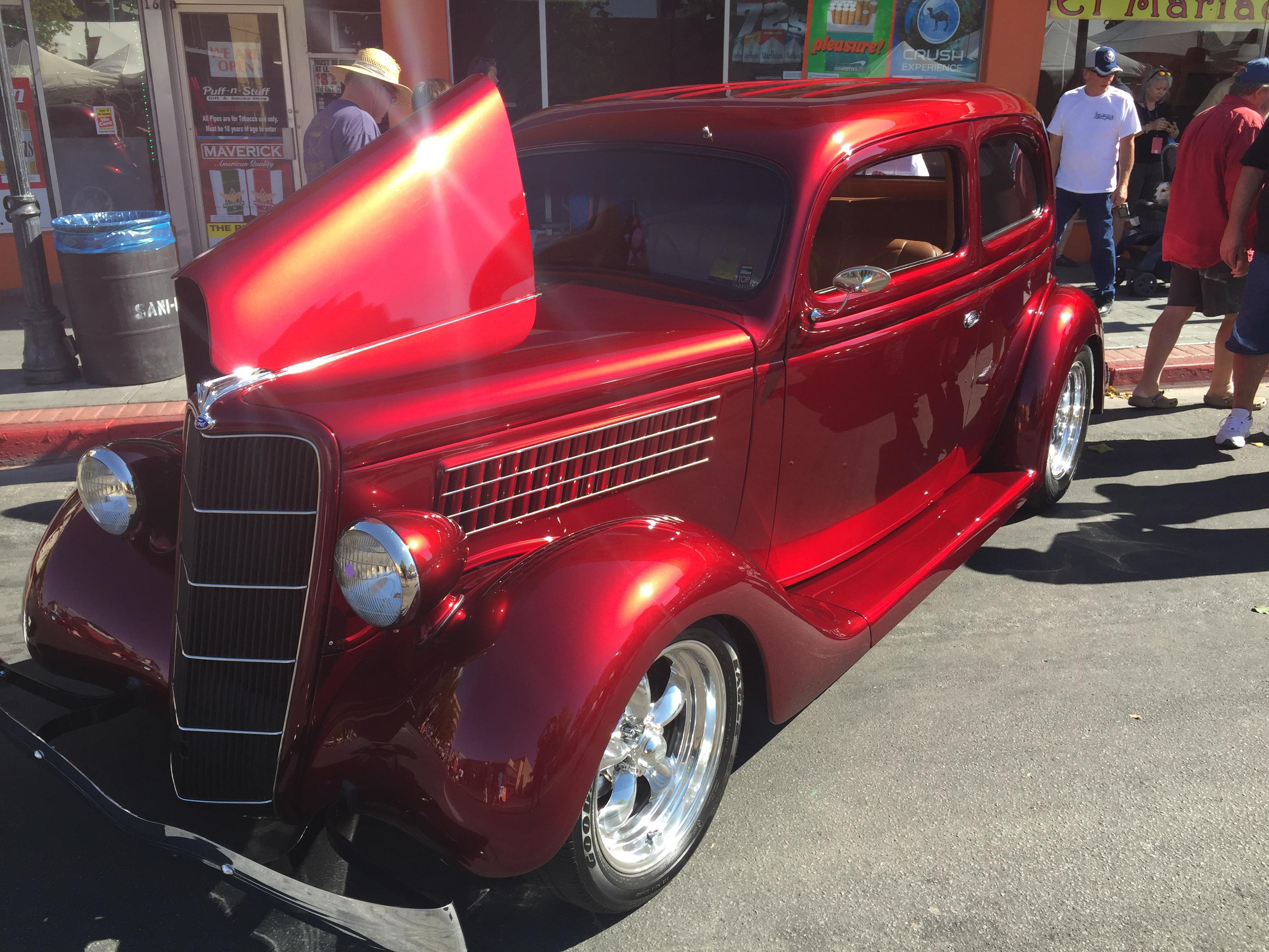 Used Cars Reno Nv >> HAN Mini-Feature: Larry Soto's 1935 Ford Slant Back