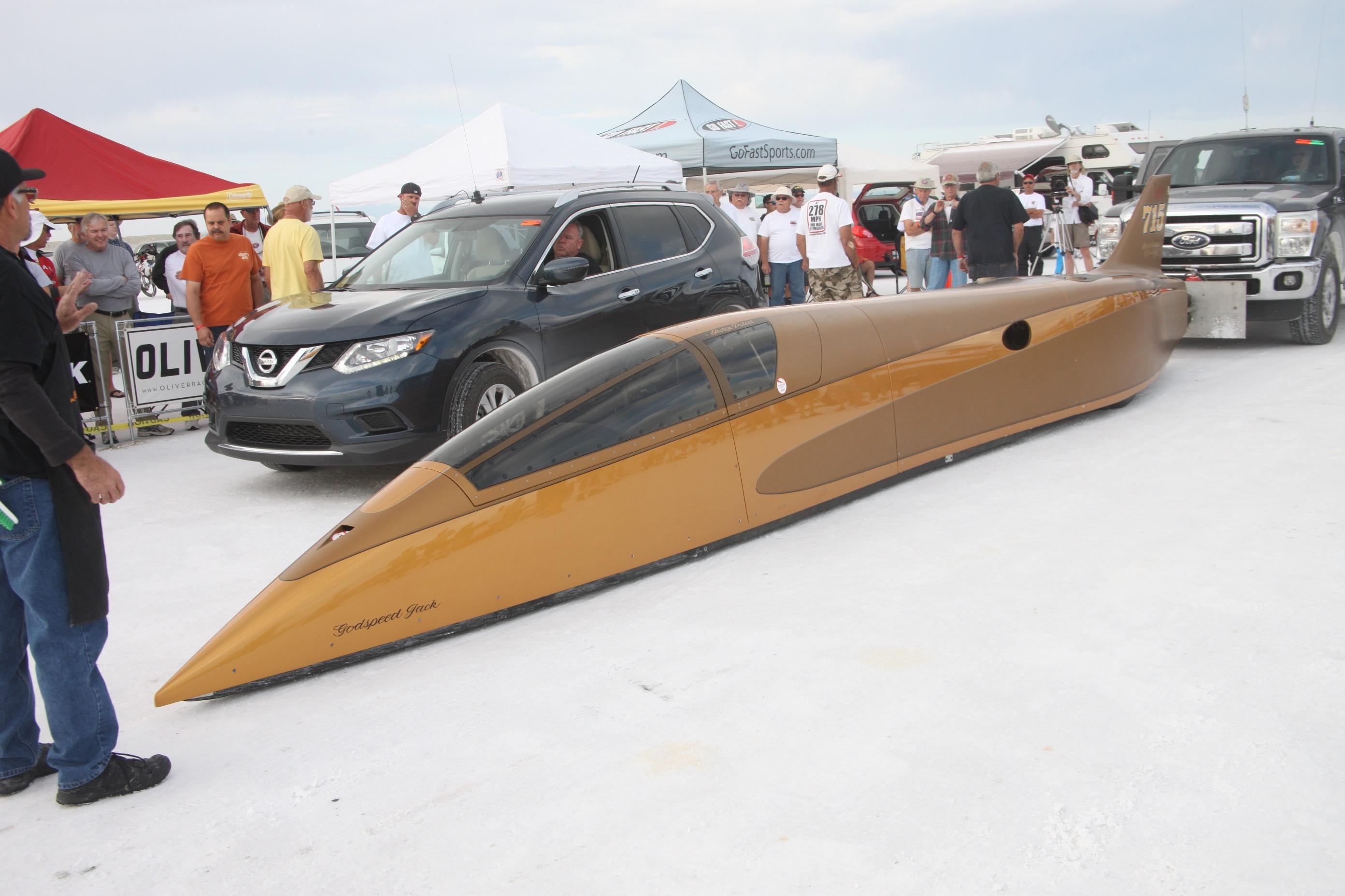 Building A Bonneville Race Car