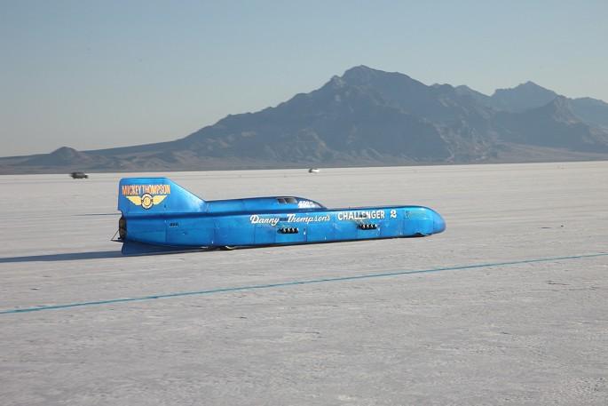 Danny Thompson Challenger 2 Bonneville Salt Flats 400 mph