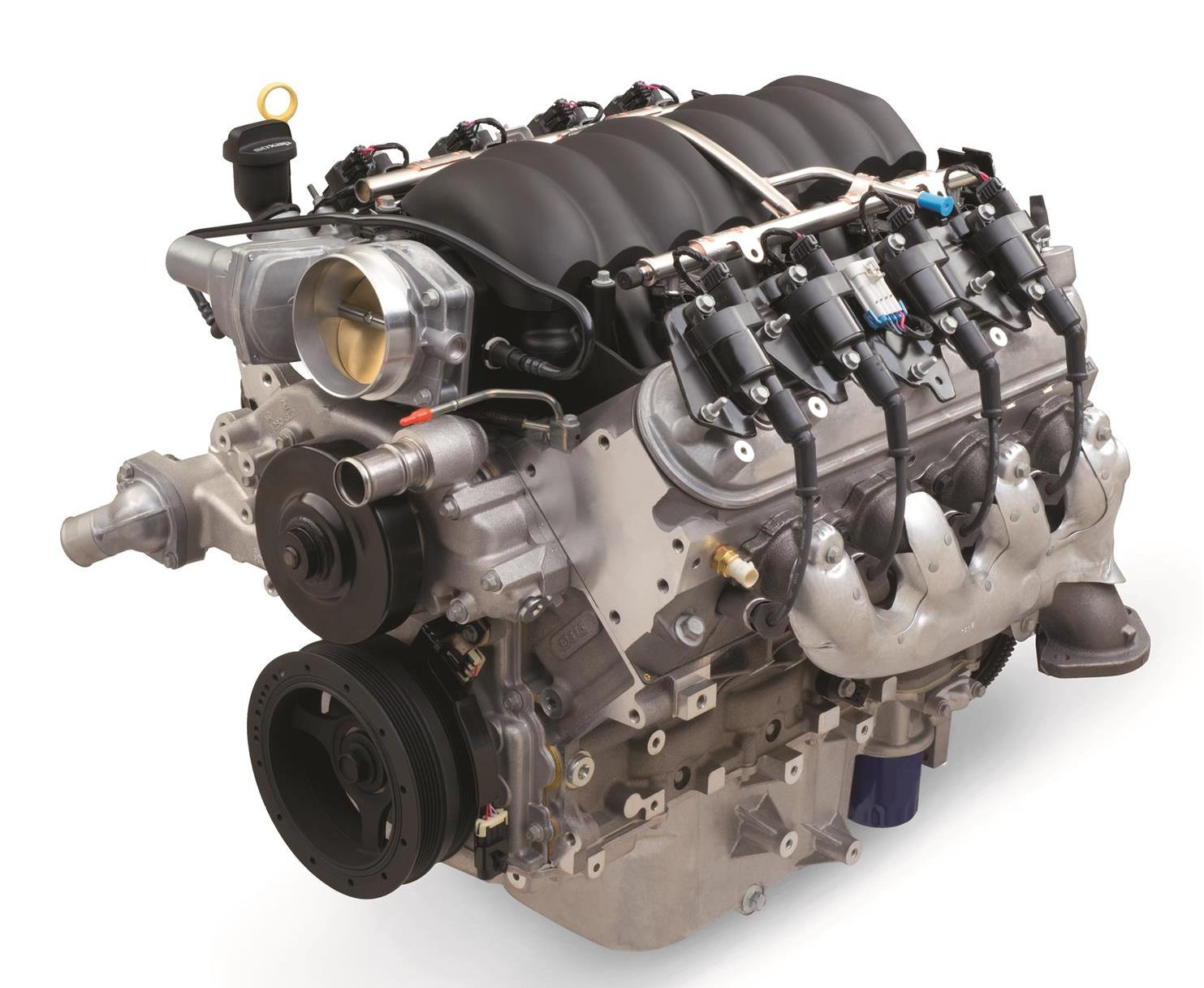 Chevrolet Performance Ls3 6 2l 376 C I D 430 Hp Engine Emblies