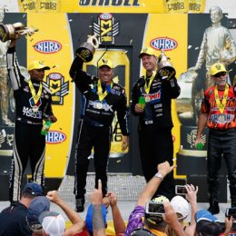 NHRA Wrap-Up: Line Wins First 2016 Playoff Race, Joins J. Force, Brown & Ellis in Winner's Circle