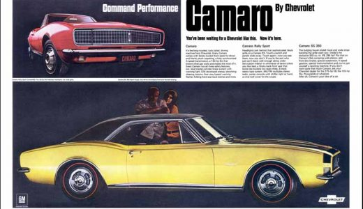 Throwback Thursday: The Ads That Introduced the Chevy Camaro 50 Years Ago