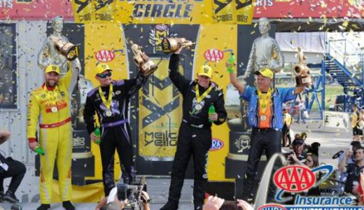 NHRA Wrap-Up: Langdon, Beckman, Laughlin & Savoie Win