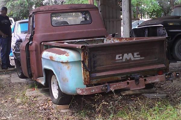 1956 GMC 100 Rusted
