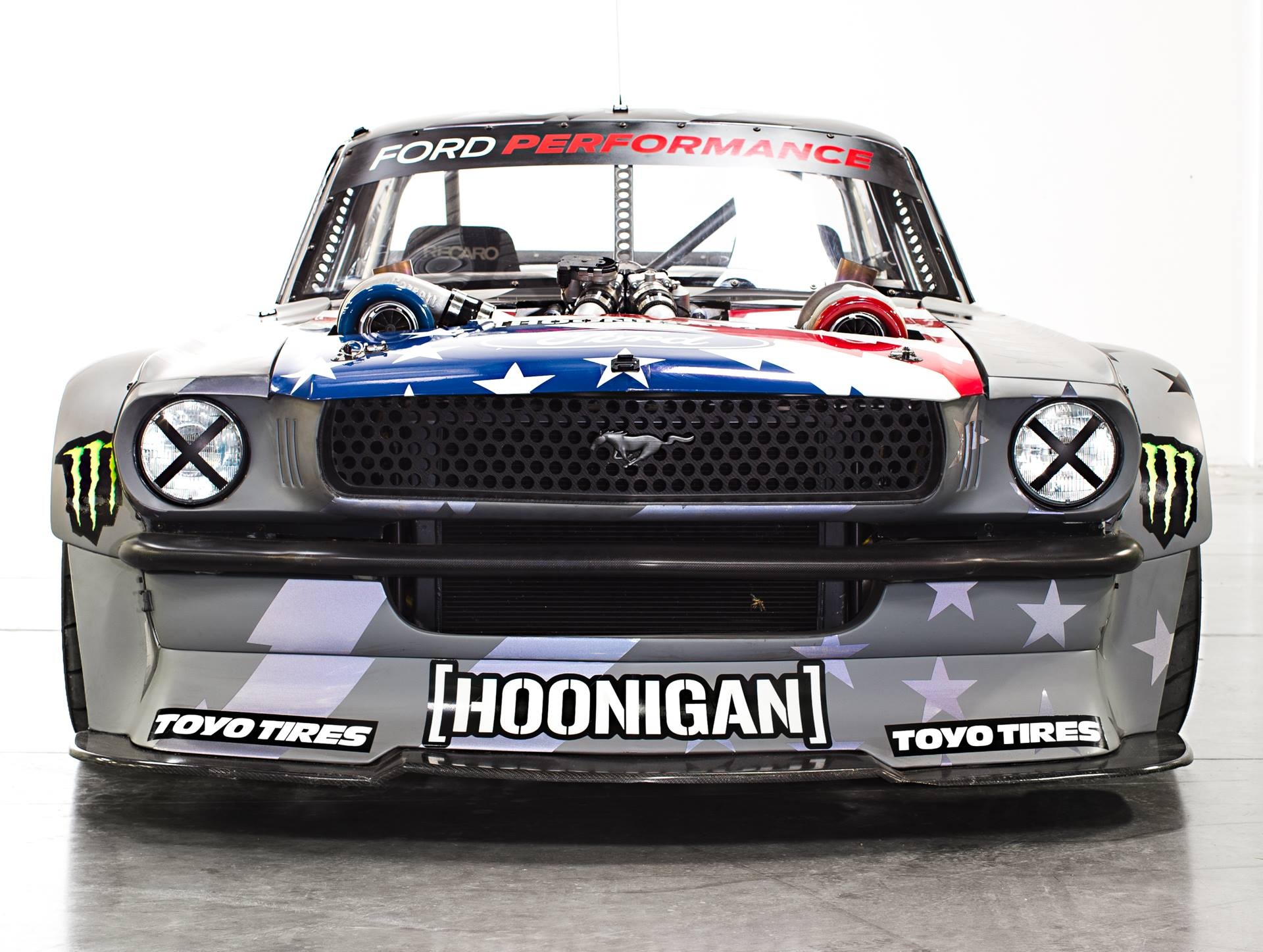 2018 Mustang Wallpaper >> Ken Block Unveils the Hoonicorn V2 Mustang! 1,400 Horsepower, Anyone? - OnAllCylinders