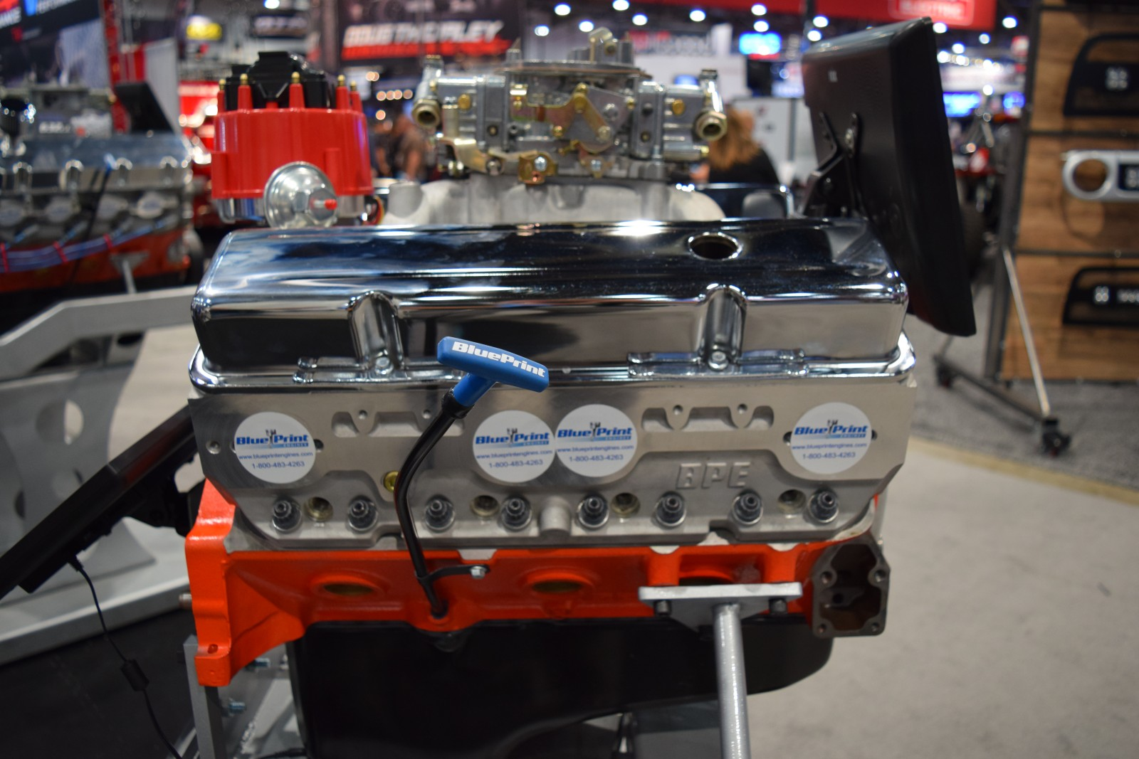 Blueprint engines to showcase new chevrolet 400 engine line at sema blueprint engines to showcase new chevrolet 400 engine line at sema 2015 onallcylinders malvernweather Image collections