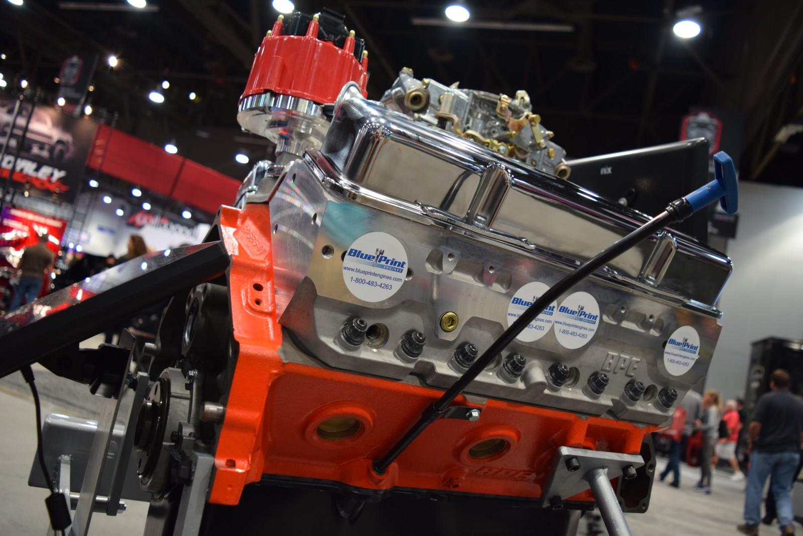 Blueprint engines to showcase new chevrolet 400 engine line at sema blueprint engines to showcase new chevrolet 400 engine line at sema 2015 onallcylinders malvernweather Choice Image