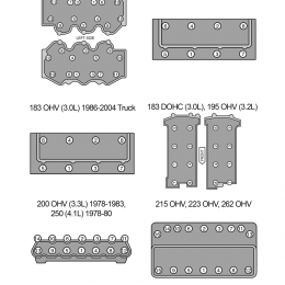 Ford six-cylinder torque sequence guide