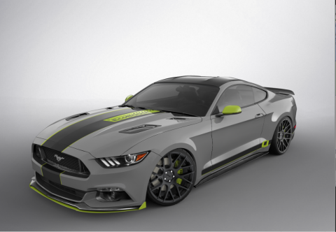 this 2017 mustang concept combines the potent ecoboost platform with a full array of ford performance parts for a knock out package of style and substance