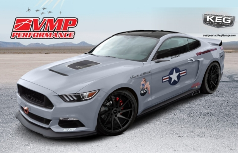 this 2017 mustang gt concept packs a cutting edge vmp performance gen ii r 23l tvs supercharger and custom calibration technologies to deliver an