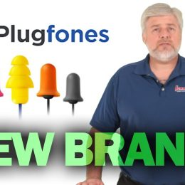 Video: Plugfones Hybrid Decibel-Reducing Earplug Headphones are Game Changers