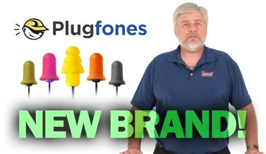 Video: Plugfones Hybrid Decibel-Reducing Earplug Headphones are Game Changers
