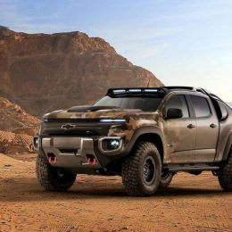 Chevrolet Shows Off Colorado ZH2 Hydrogen-Powered Electric Vehicle, Silverado Carhartt Concept at SEMA Press Conference