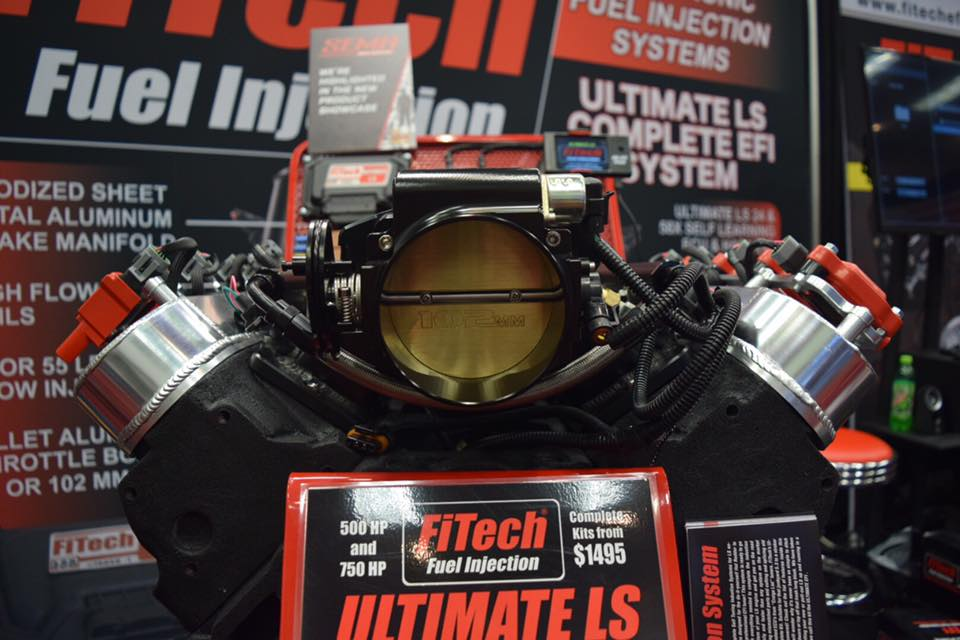 sema 2016 fitech unleashes ultimate induction system for