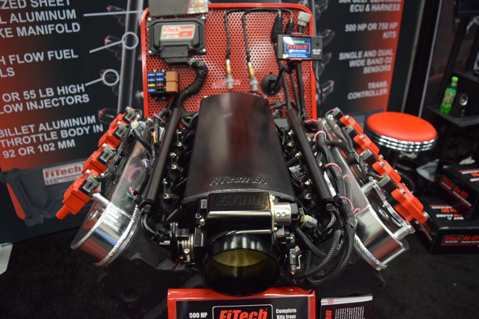Sema 2016  Fitech Unleashes Ultimate Induction System For Ls Engines