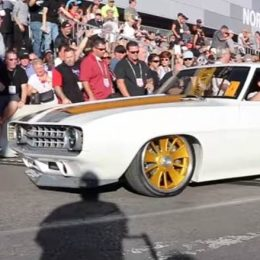 """Video: 1969 """"Under Pressure"""" Camaro Drives Cam Miller to Top of SEMA Battle of the Builders Contest"""