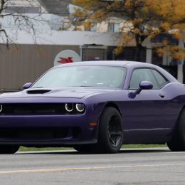 Spy Shots: Challenger Hellcat ADR Caught Testing!