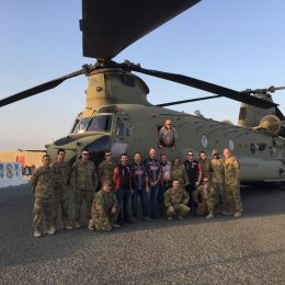 Big thanks to SFC Wilson and the Chinook crew. These folks love their job, and it shows.