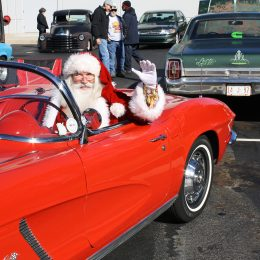 As in past years, Santa will be on hand to rev up plenty of holiday cheer. The jolly old elf will arrive at noon.