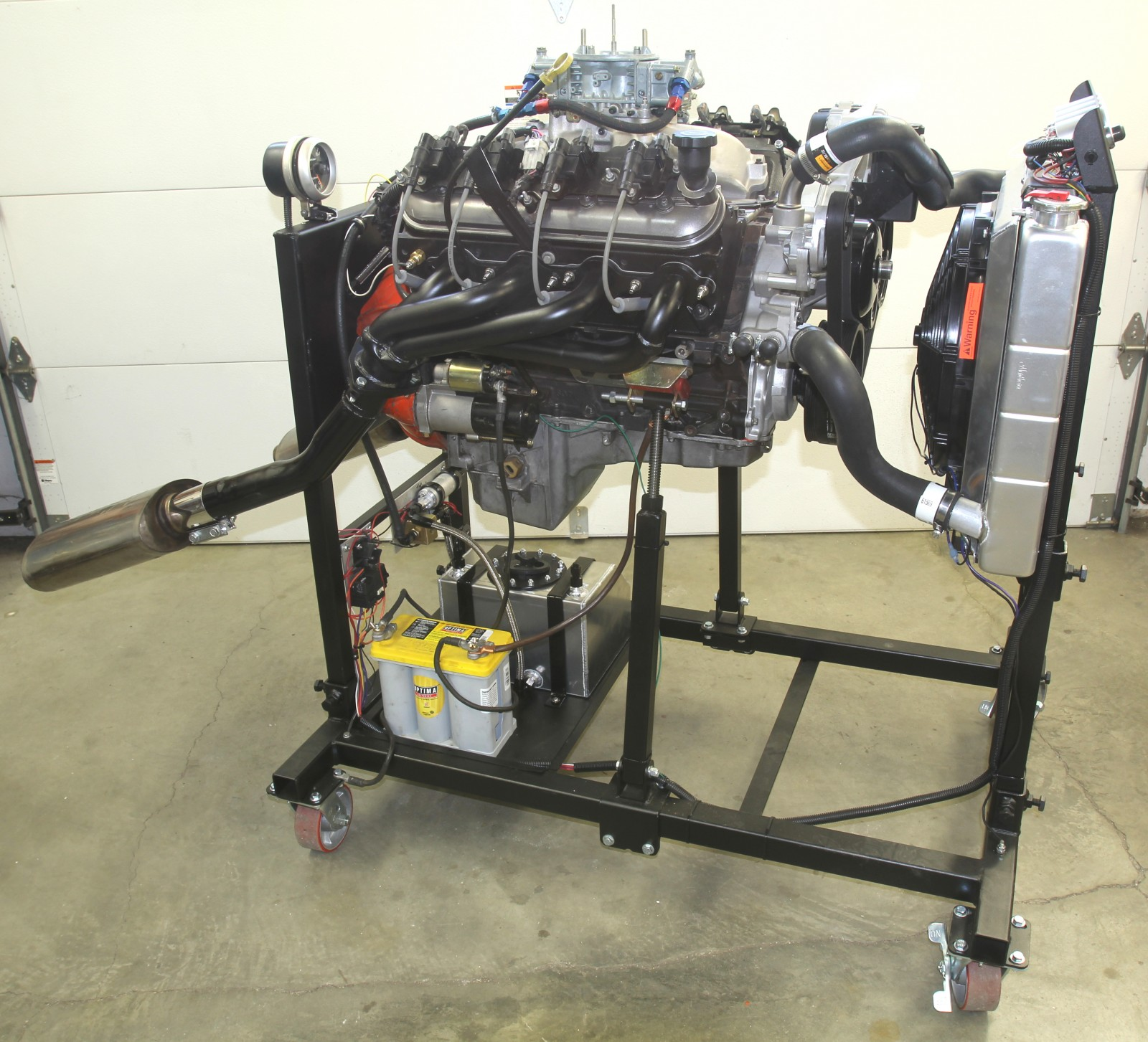 Take A Stand Building Summit Racing S Engine Test Stand
