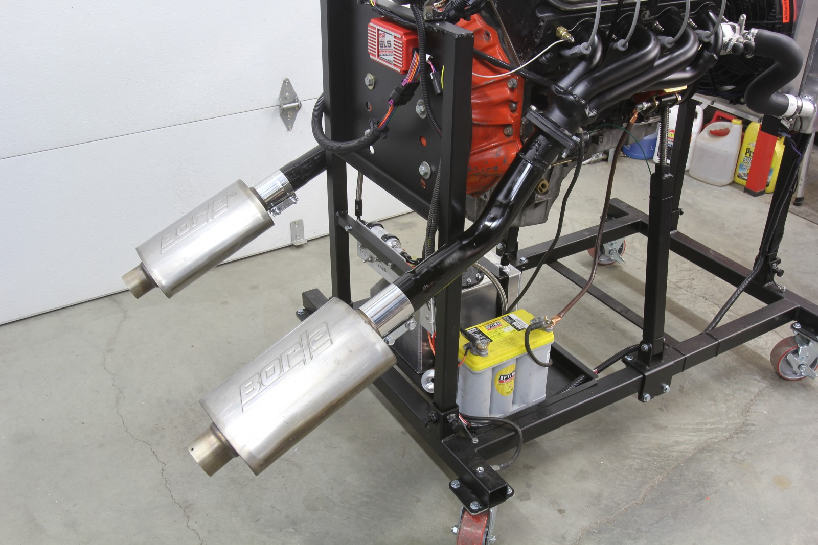 Take a Stand! Building Summit Racing's Engine Test Stand