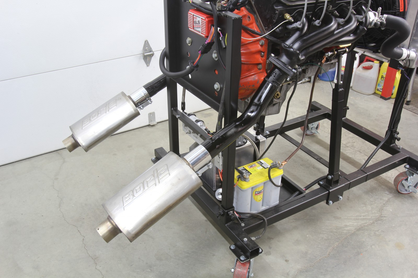 Take A Stand  Building Summit Racing U0026 39 S Engine Test Stand