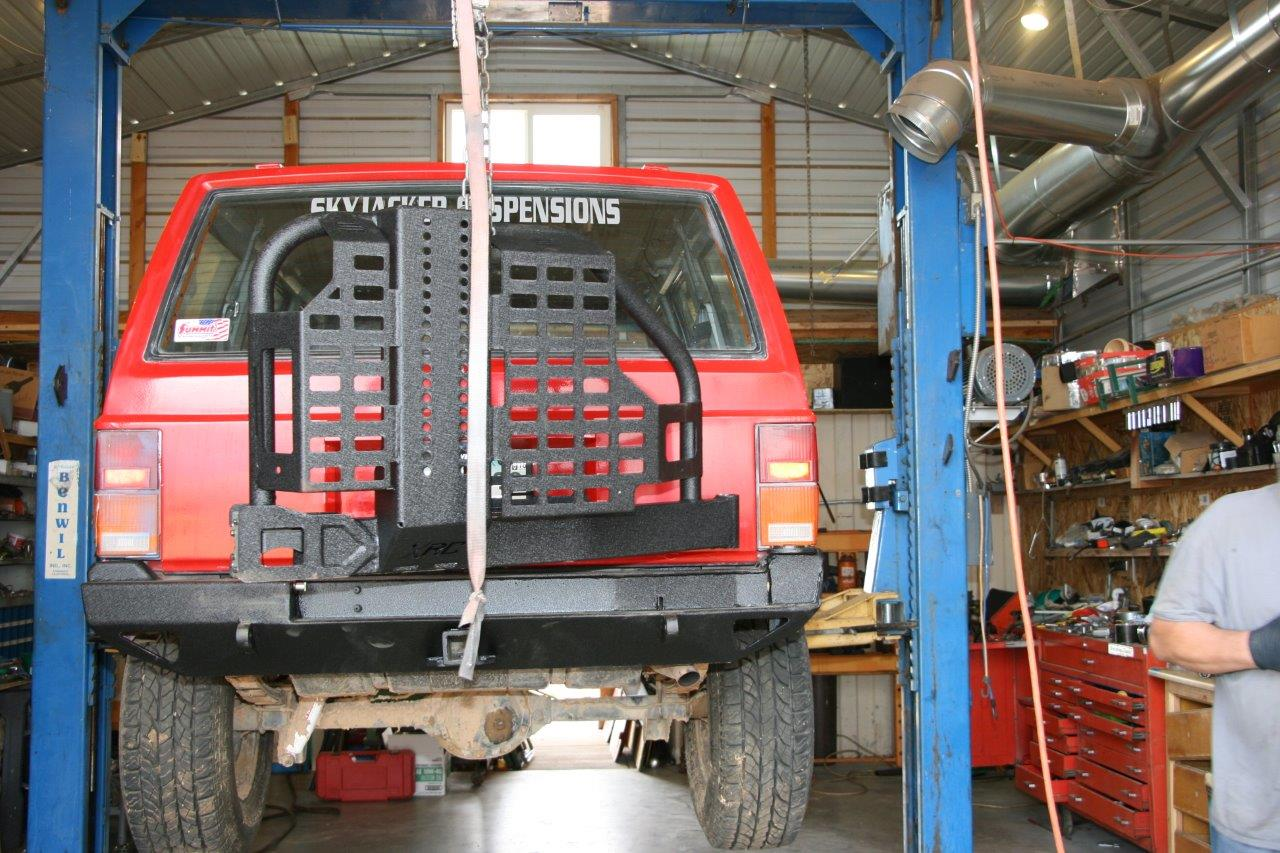 Bumper Booster: Installing Smittybilt XRC Steel Bumpers on a
