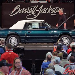 Dennis Collins' 1990 Ford Mustang Convertible Barrett-Jackson