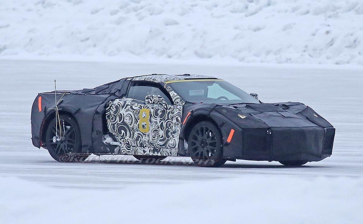 Spy Shots Is This The New Mid Engine Corvette