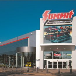 Summit Racing retail store in Tallmadge, Ohio