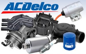 ACDelco parts collage