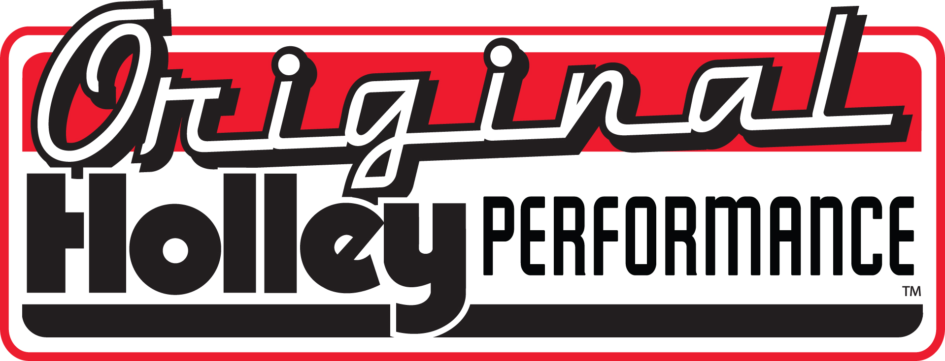 Holley - Original Holley Performance logo